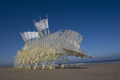 Strandbeest on Sony TVCF