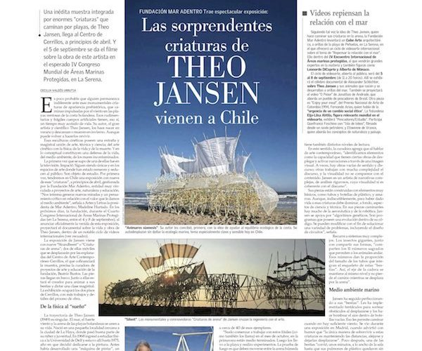 チリ- EL MERCIO紙